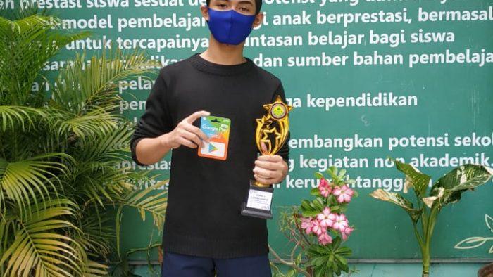 Pembagian Hadiah Pemenang Classsmeeting Online Pasca PTS Semester Ganjil