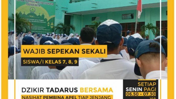 "Agenda Apel ""PERSEGI"" SMP IT Masjid Syuhada"