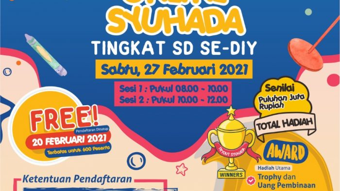 Info Pendaftaran TRY OUT ONLINE SMP IT MASJID SYUHADA 2021