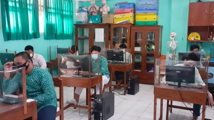 Pelaksanaan Simulasi ASPD Tahun 2021 bagi Peserta Didik Kelas IX SMP IT Masjid Syuhada