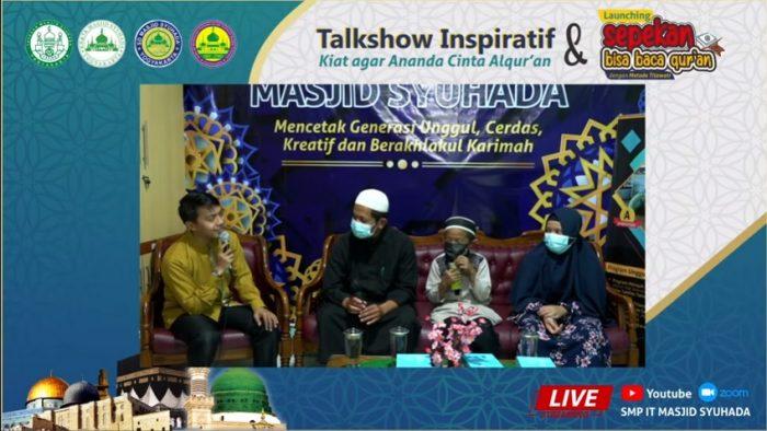 Grand Launching Kegiatan Sepekan Bisa Baca Al-Qur'an (SBQ)